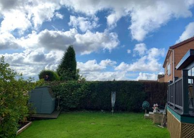 hedge removal and trimming cheap in Leeds